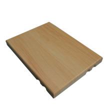 wood grain of indoor and outdoor aluminum curtain wall