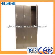 Locker System - Armarios de efecto de acero inoxidable de lujo