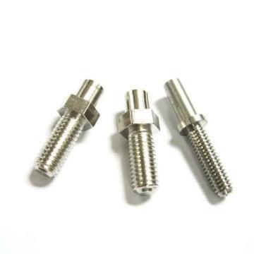 Hexagonal M8 Thread Nickel Plating Steel Tornillo y tuerca de rueda