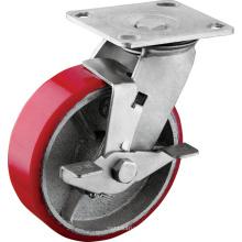 Roulettes industrielles à roues robustes