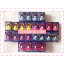 Produtos de beleza cosméticos lavável látex gratuito Blender esponja / hidrofílica maquiagem poliuretano