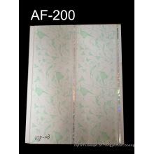 Painel de PVC de superfície branca pura