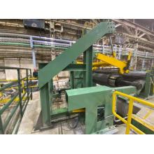 Máquina de linha de corte de tiras de metal de calibre pesado