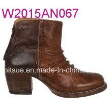 Mujeres botas de tacón alto impermeable en China