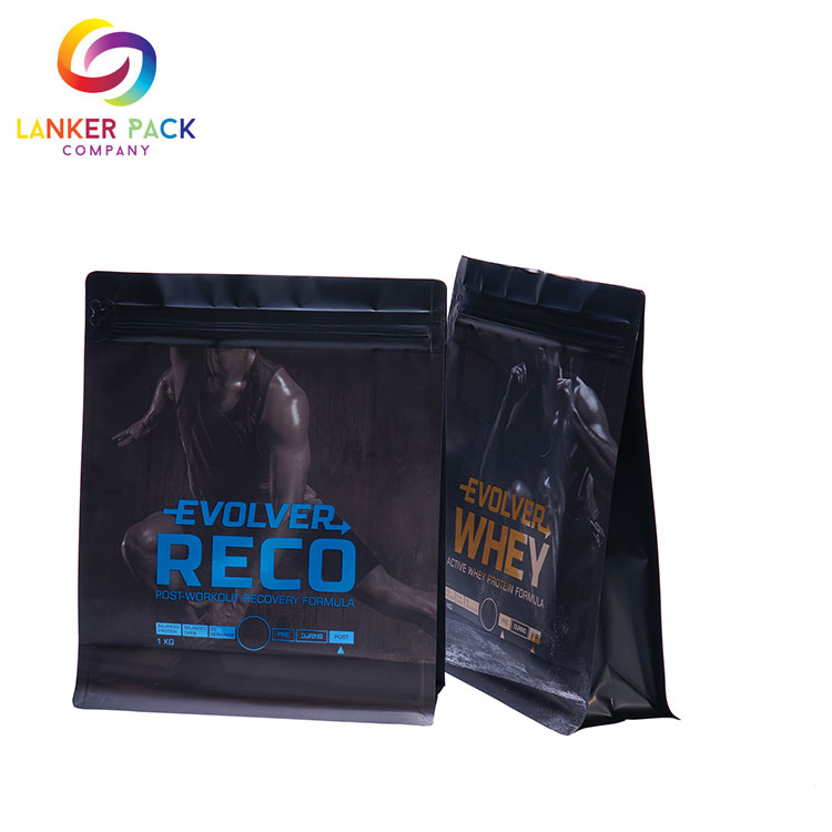 Brc Leakproof Standing Nutrition Powder Bag