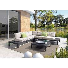 Sofá S0277 de la sala de estar de los muebles al aire libre de aluminio del sofá