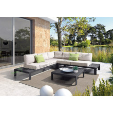Sofa vivant en aluminium S0277 de meubles extérieurs de sofa en aluminium