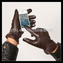 2013 nouvelle gant écran tactile à la peau de mouton