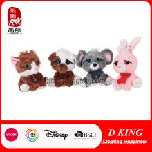 Brinquedos relativos à promoção bonitos por atacado do animal enchido do luxuoso dos presentes