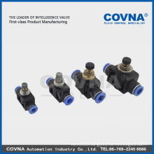 China Quick Pneumatic Connector pneumatic quick connect pipe push fitting(Factory)