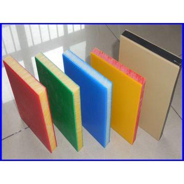 Feuille de HDPE colorée