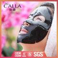 Logotipo personalizado máscara de limpieza de carbón negro con alta calidad