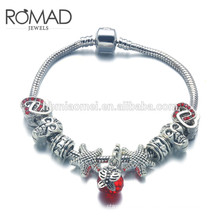 OEM cross Bead bracelet fashion accessories bracelet for women, latest friendship bracelet for chris giftracelet