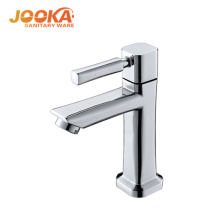 Jooka high quality polishing chrome cold water wash basin taps