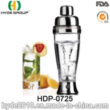 2016 Hot Sale Plastic Vortex Cocktail Shaker Water Bottle (HDP-0725)