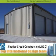 Baixo custo e estrutura de aço da alta qualidade da garagem