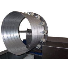 Automatische gewundene flexible Aluminiumfolie-Kanal-Maschine