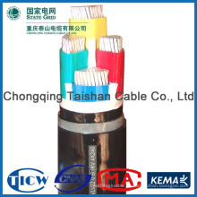 Хорошее качество Кабель питания изоляции PVC / XLPE, кабель abc / acsr / control / overhead