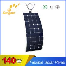 Factory Direct Sale A Grade Flexible Solar Panels Flexible Solar Panel 140W