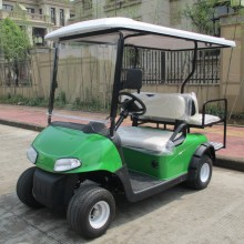 4 asientos Club Car Golf Cart con asiento trasero y luces