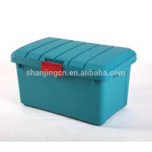 Material Plástico e PP Tipo Plástico Várias opções Use a caixa de armazenamento com alça.