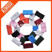2015 Terry cotton sport custom long wrist sweatbands