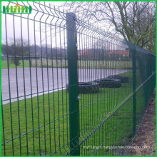 standard vinyl coated black welded wire fence mesh panel
