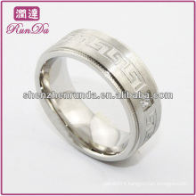 2014 fashion ring cheap high polish stainless steel trendy ring