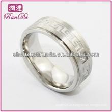 Anel de forma 2014 do anel de aço inoxidável polonês elevado barato do anel