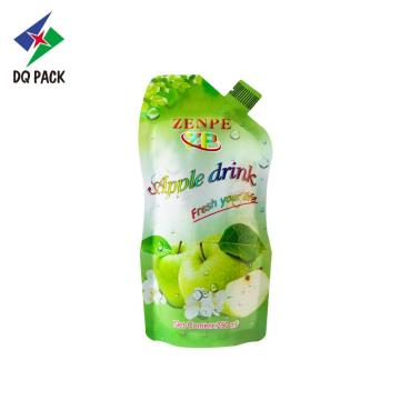 DQ PACK stand up pout pouch packaging líquido