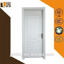conceptions modernes porte en bois intérieur/extérieur en bois porte gauche/droite