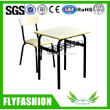Used cheap school furniture pupil desk and chair set
