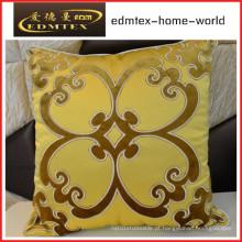 Bordados decorativos almofada de veludo de moda travesseiro (EDM0328)