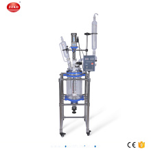 10L+Jacketed+Chemical+Glass+Polymerization+Reactor