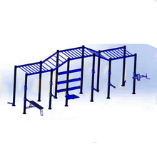 equipo cruzado de gimnasio / Equipo de gimnasio de 5 estaciones / Equipo de entrenador de gimnasio integrado