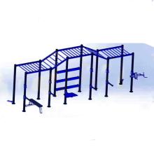 équipement de gymnastique de croix / 5-station Équipement multi de gymnase / équipement intégré d'entraîneur de gymnase