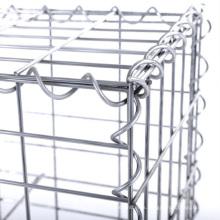 2x1x1m 75*75mm Welded Mesh Basket Decorative Gardens Box Gabions Stone Cage Retaining Wall Blocks