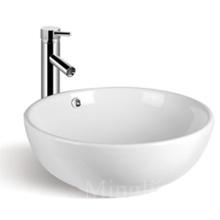 low price new design bathroom round ceramic wash basin