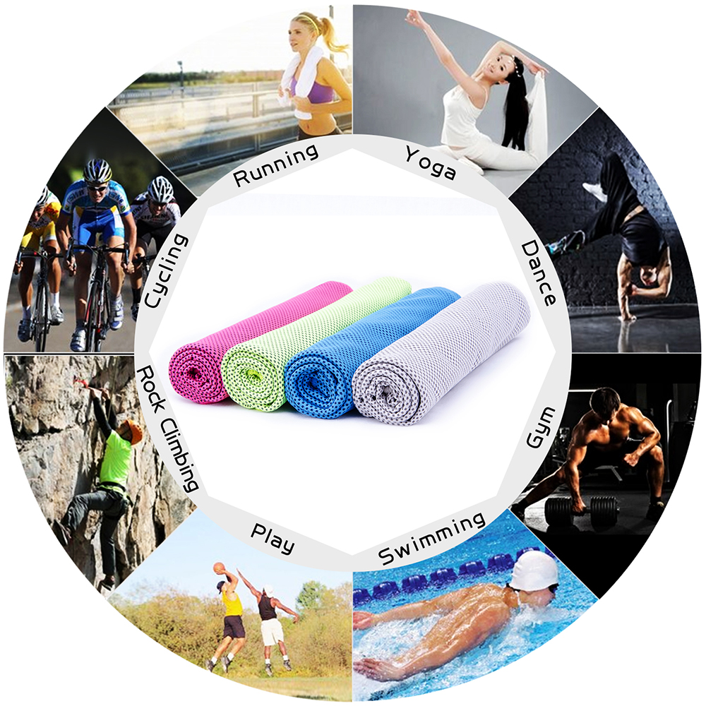 golf cooling towel for dancing,yoga,bicycling