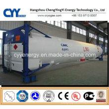 Conteneur de réservoir de dioxyde de carbone d'argon d'azote liquide cryogénique de GNL