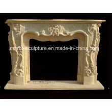 Nuevo diseño popular chimenea de mármol (SY-MF224)