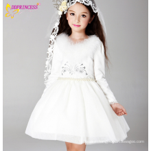 Alibaba Wedding Girls Clothing Kids Princess Wedding Dresses Teens Girls Wedding Flower Dress Party Dresses Hot