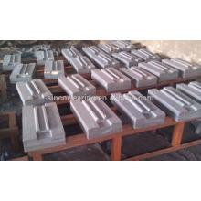 Blasstab Mn13Cr2 Mn18Cr2 Mn22Cr2, Cr26, C20Mo, Cr15Mo Martensitischer Mangan Keramikeinsatz PF1214 / HP Serie C Serie