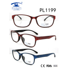2017 New Collection Double Colors PC Optical Frame (PL1199)