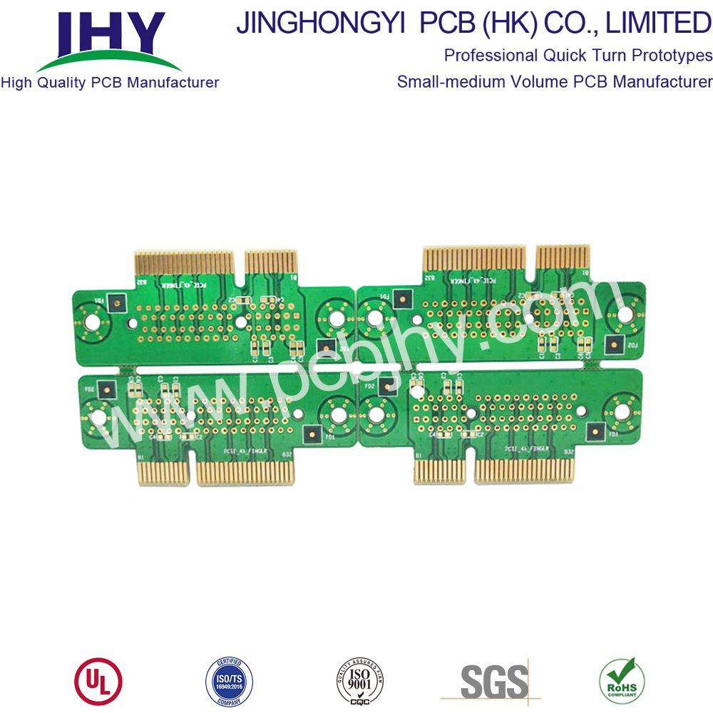 6 Layer Gold Fingers PCB