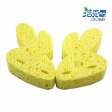 Éponge de cellulose / forme de lapin