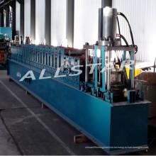 Galvanizado en postes de acero y proveedor de Shanghai la máquina perfiladora de pista