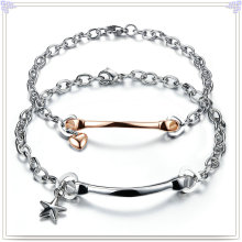 Fashion Jewelry Stainless Steel Couples Bracelet (HR286)