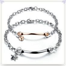 Jóias de moda pulseira de casais de aço inoxidável (HR286)
