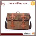 New Vintage Men Crossbody Shoulder Bag Canvas Camouflage Men's Satchel